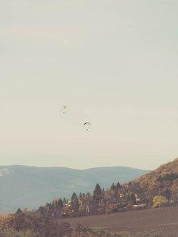 Parachuting, Dangerous, Parachute, Extreme, Sport, Risk