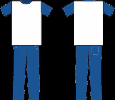 School Uniform, Uniform, Mockup, Top, Pants, Clothing