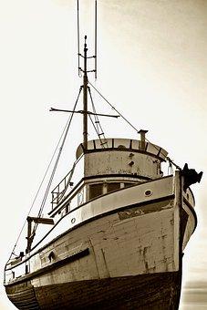 Ship, Shipyard, Sepia, Dock, Dry Dock, Shipbuilding
