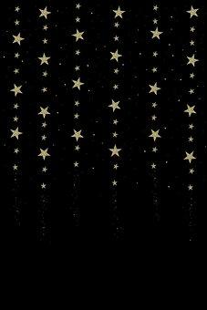 Sternenregen, Star, Shooting Star, Fantasy, Starry Sky
