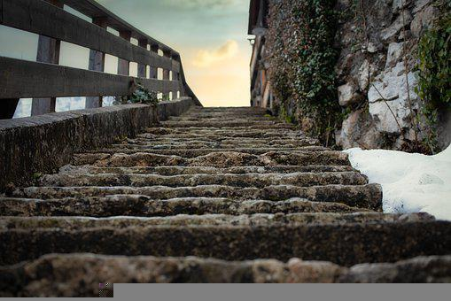 Stairs, Stone, Outdoors, Steps, Staircase, Stairway