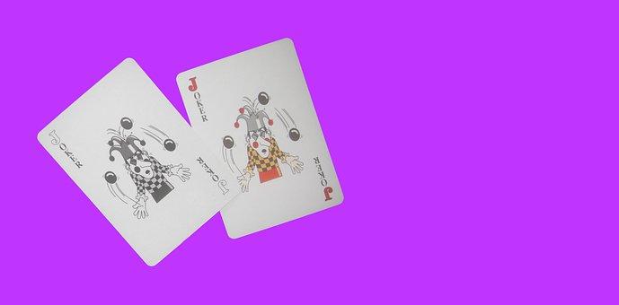 Playing Cards, Joker, Template, Header, Poker, Casino