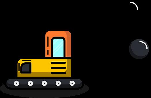 Wrecking Ball Truck, Destruct, Heavy Vehicles
