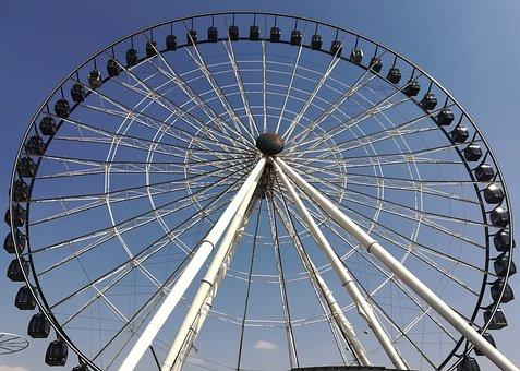 Ferris Wheel, Ride, Amusement Park, Park