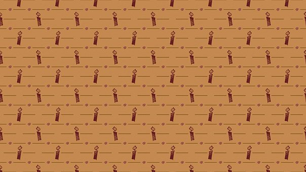 Candle, Pattern, Background, Lines, Brown, Burgundy
