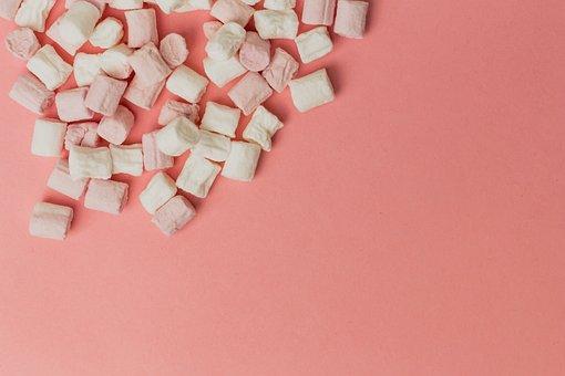 Marshmallow, Food, Background, Dessert, Ingredient