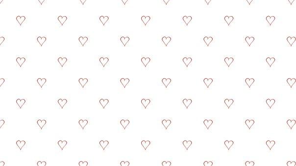 Heart, Pattern, Background, Love, Romantic, Valentine