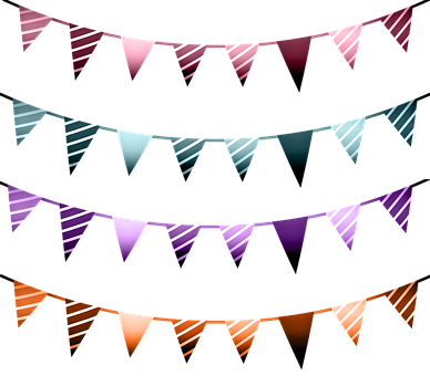 Banner, Flags, Colorful, Colorful Bunting, Garland