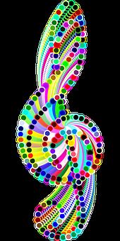 Clef, Music, Circles, Abstract, Audio, Aural, Bass
