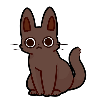 Cat, Kitten, Cartoon, Cute, Brown, Kitty, Pet, Feline