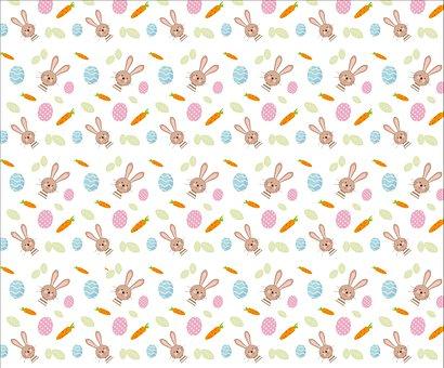 Easter, Bunny, Pattern, Hare, Easter Bunny, Easter Egg