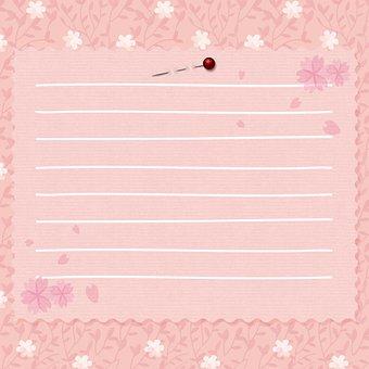 Digital Paper, Floral, Card, Invitation