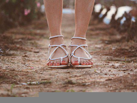 Feet, Sandals, Girl, Footwear, Fashion, Toes, Female