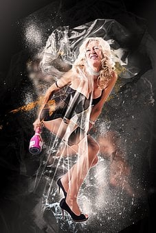 Woman, Dancing, Photo Art, Female, Girl, Beauty