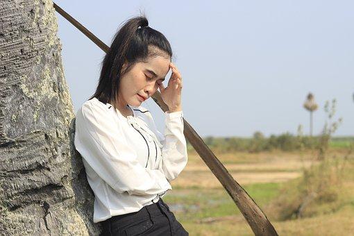 Woman, Sad, Crying, Stress, Emotions, Grief, Sorrow