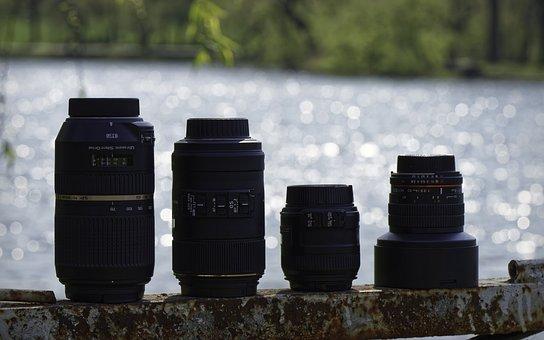 Lens, Photo Lens, Nature, Lake, Water, Bokeh, Park