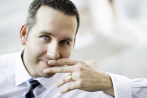 Businessman, Man, Married, Ring, Wedding Ring, Hand