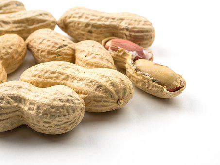 Peanuts, Nuts, Food, Nut Shell, Dry, Snack, Nutritious