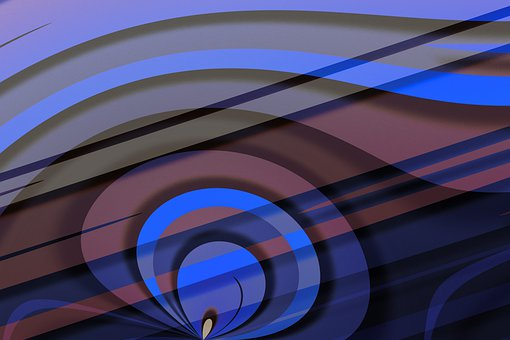 Abstract, Lines, Wave, Pattern, Circle, Round, Modern