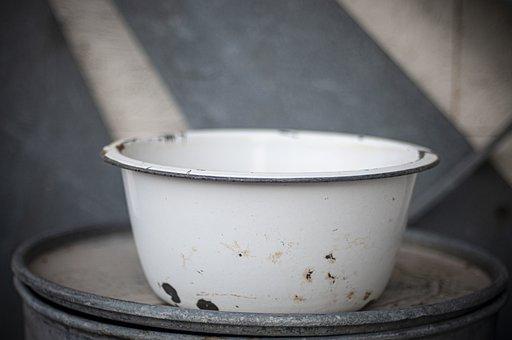 Bowl, Porcelain, Vintage, Antique, Old
