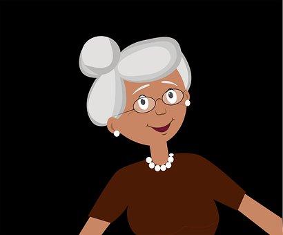 Woman, Old, Smile, Glasses, Eyeglasses, Aged, Senior