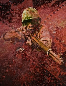 Soldier, Weapon, Photo Art, Military, Man, Army, Marine