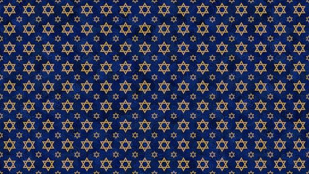 Digital Paper, Star Of David, Pattern, Magen David