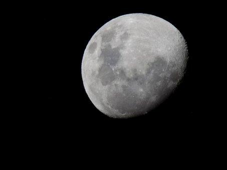Moon, Wallpaper, Horror, Science, Space, Cosmos, Luna