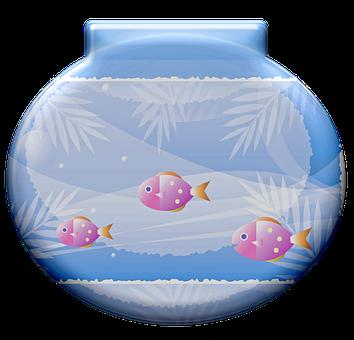 Fishbowl, Fish, Aquarium, Water, Underwater, Tank