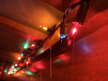 Lights, Xmas, Christmas, Decoration, Advent, December