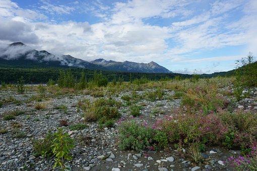 Alaska, Mountains, Rocks, Landscape, Nature, Scenic