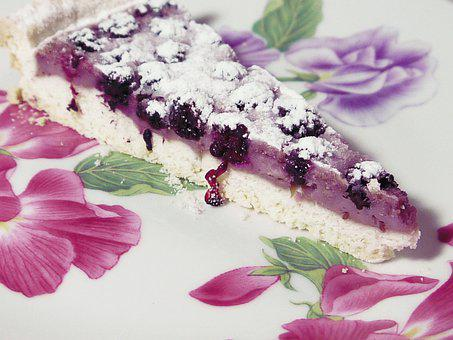 Tart, More, Egg White, Ricotta, Fruit, Cake, Blackberry