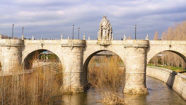 Bridge, Madrid, Toledo Bridge, Baroque, Architecture