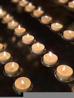 Candle, Light, Mourning, Candlelight, Dark, Decoration