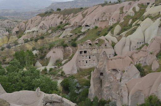 Nature, Turkey, Landscape, Cappadocia, Travel