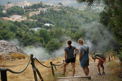Italy, Family, Landscape, Nature, Child, Summer, Hiking