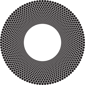 Circles, Frame, Border, Dots, Abstract, Geometric