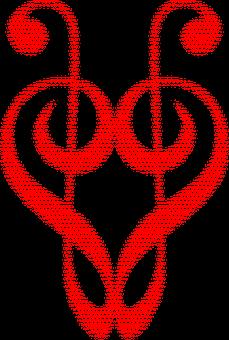 Clef, Hearts, Love, Romance, Romantic, Passion, Music