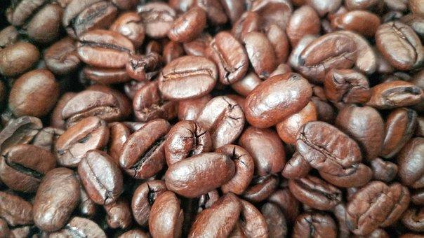 Coffee, Grain, Brown, Espresso, Detail, Aroma, Bean