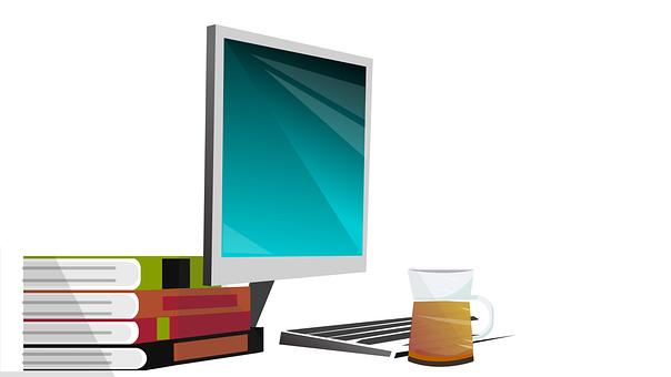 Desk, Computer, Laptop, Office, Business, Work, Study