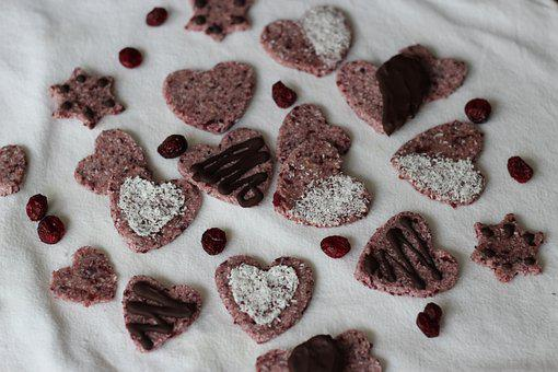 Valentine, Family, Couple, Cookies, Vegan Cookies