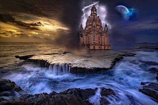 Landmark, Architecture, Fantasy, Historical, Europe
