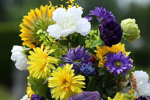Flowers, Petals, Bouquet, Floral Arrangement, Plant