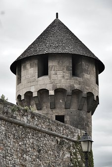 Watchtower, Tower, Fortification, Medieval, Fortress