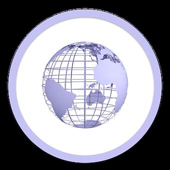 Icon, Global, Network, Communication, Earth, Globe