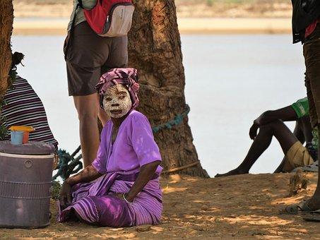 Madagascar, Woman, Human, African, Portrait, Face, Work
