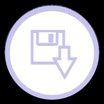 Icon, Save, Download, File, Transfer
