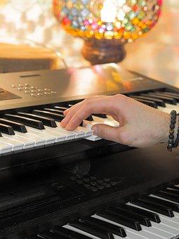 Music, Tool, Studio, Recording, Keys, Keyboard, Art