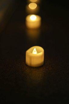 Candle, Night, Candles, Light, Candlelight, Advent