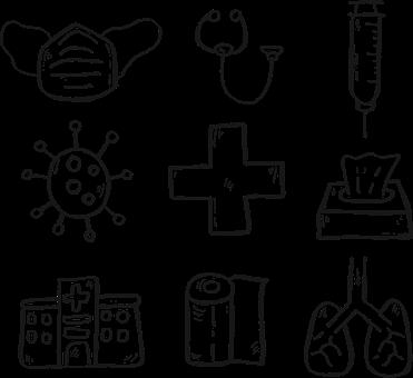 Covid-19, Virus, Epidemic, Protection, Icon, Mask